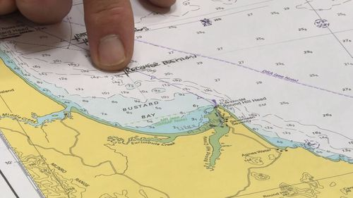 The search operation has been hampered by bad weather. (9NEWS)