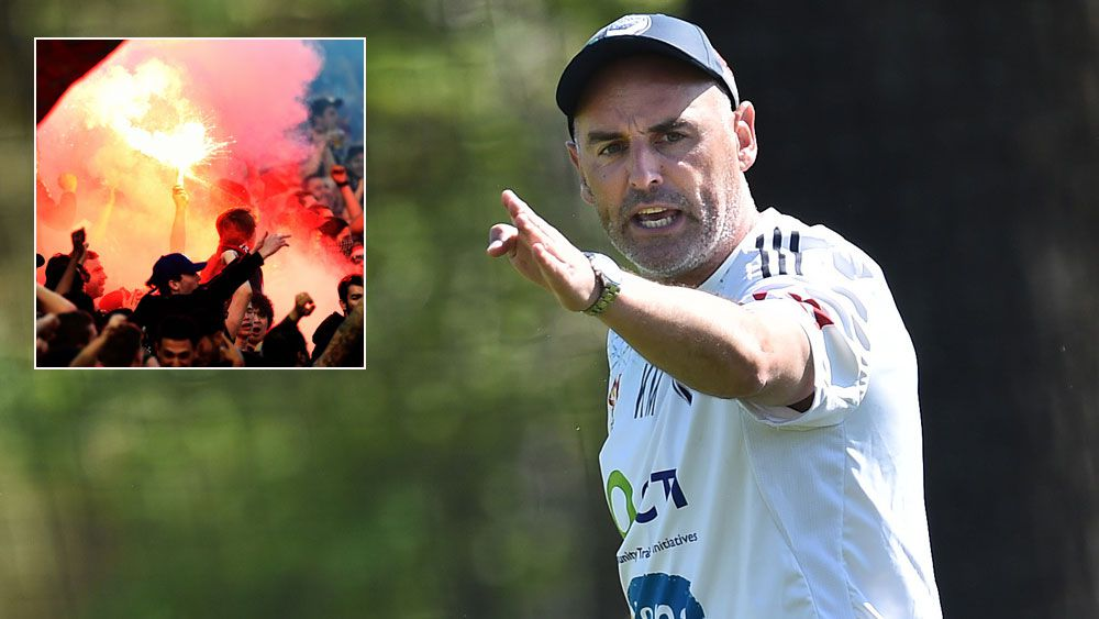 Muscat backs Wanderers on flares