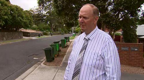 Banyule Mayor Craig Langdon. (9NEWS)