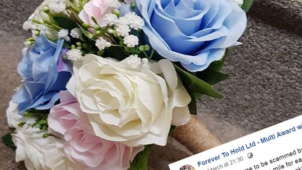 Woman caught lying about 'lost' bouquet she had refunded