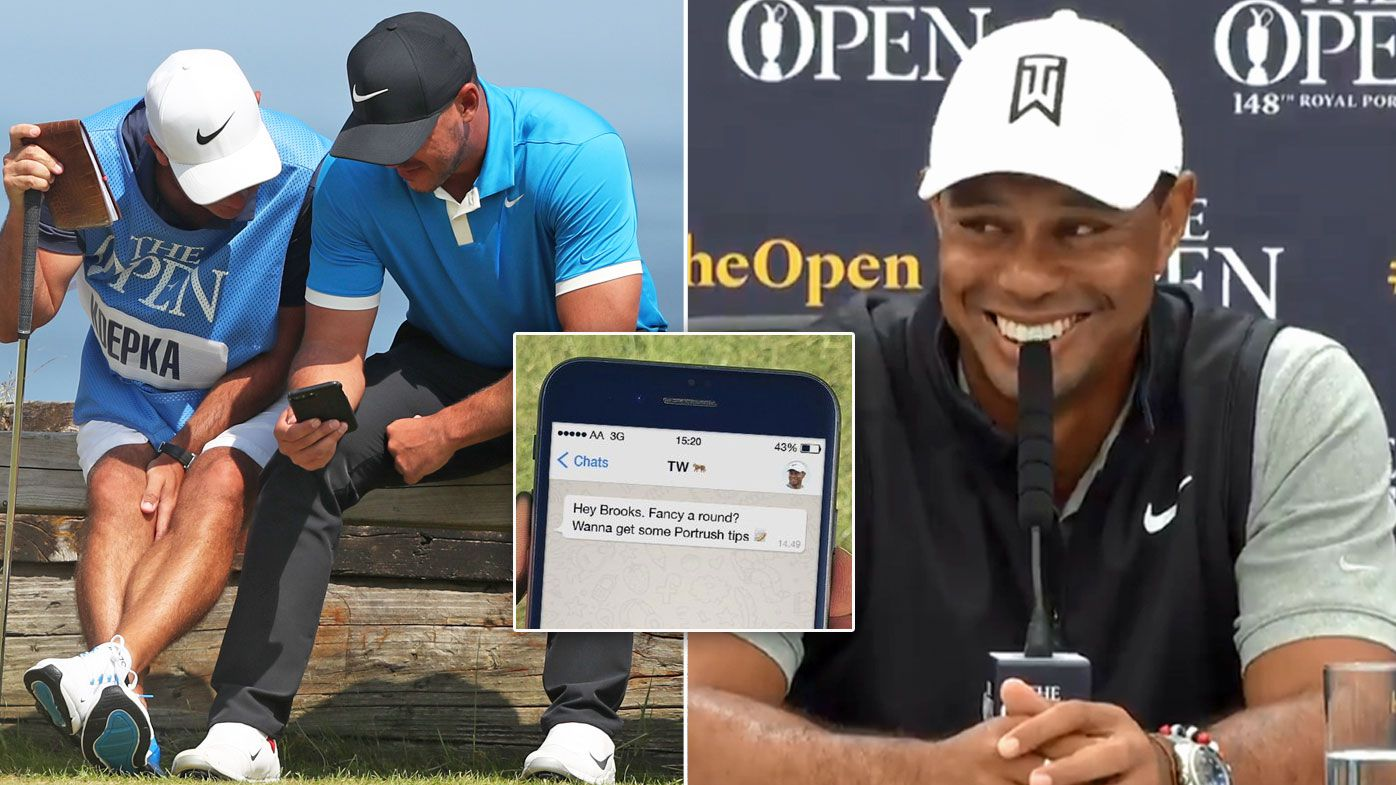 'I've heard nothing': Tiger Woods snubbed by Brooks Koepka before British Open