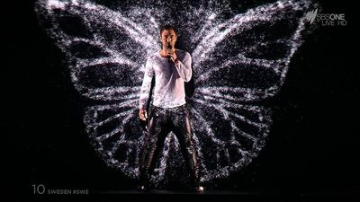 Sweden's Mans Zelmerlow has won the 2015 Eurovision Song Contest with his performance of Heroes upstaging the competition in Vienna.