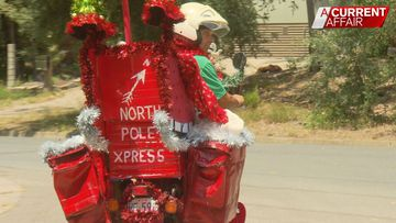 Postie given green light to spread Christmas joy