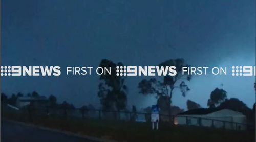 The River Heads home was one of many affected by the storm. (9NEWS)