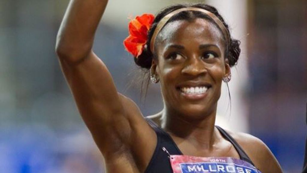 Olympic runner Alysia Montano won't stop running till she has to. Image: Instagram/@alysiamontano