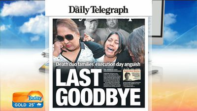 Sydney's Daily Telegraph. (9NEWS)