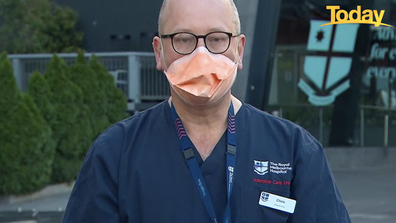 ICU director of the Royal Melbourne Hospital Chris MacIsaac told Today hospitals around Victoria are bracing for an increase in COVID-19 hospitalisations.