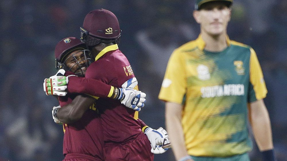 Windies advance, Proteas on the brink