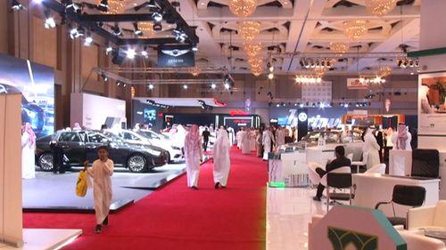 The car show was held in Riyadh earlier this week.
