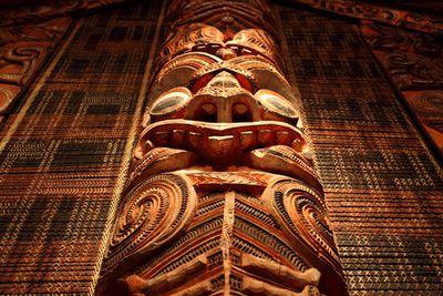 7. Maori carvings in New Zealand