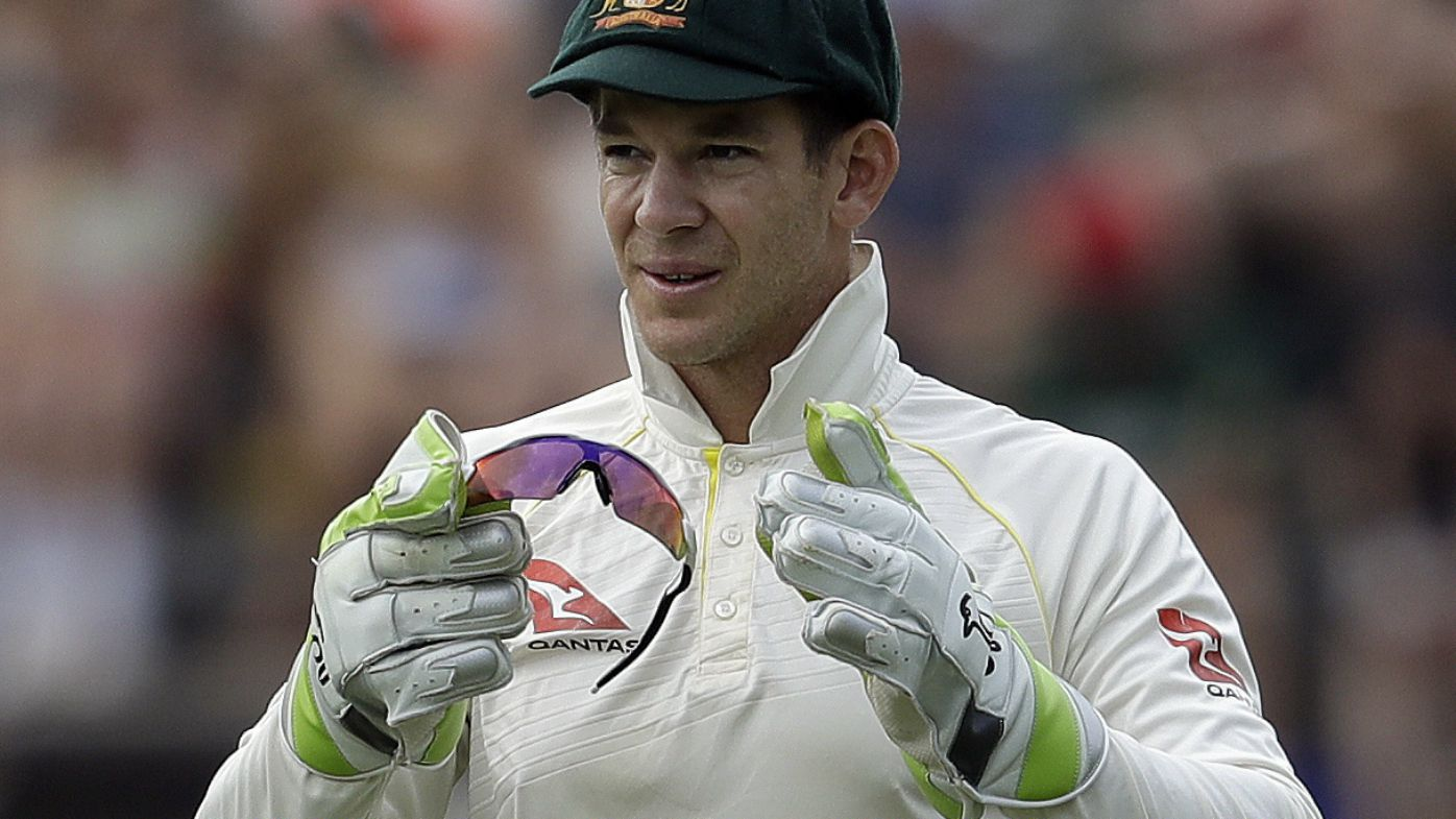 Tim Paine captains