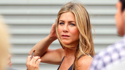 Jennifer Aniston rushes to her estranged mother's hospital bedside after she suffers a stroke