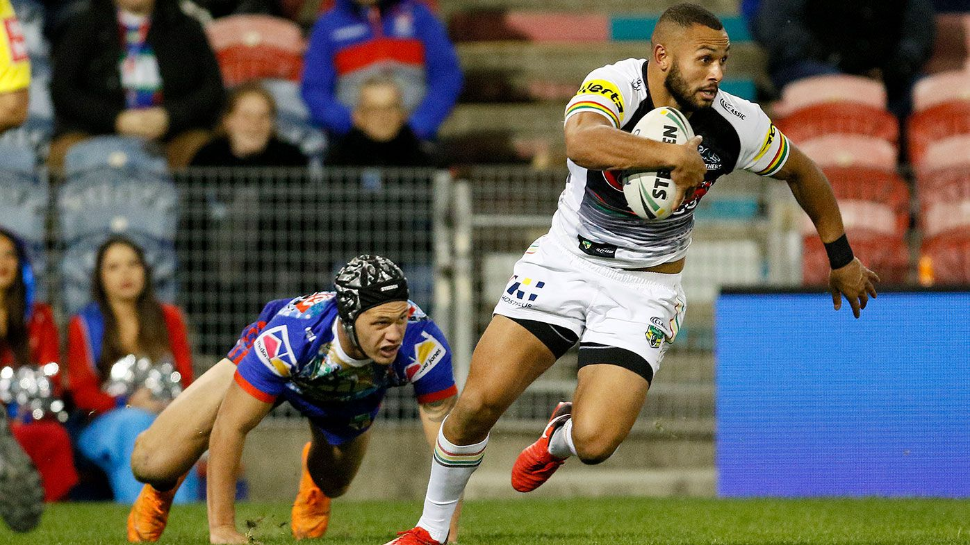 Tyrone Phillips Penrith Panthers NRL