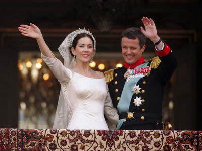 Prince Frederik of Denmark and Princess Mary, 2004