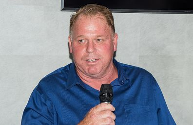 Thomas Markle Jr attends the Rocco's Collision Presents Celebrity Boxing 68: Thomas Markle Jr v Nacho Press Conference on May 15, 2019.