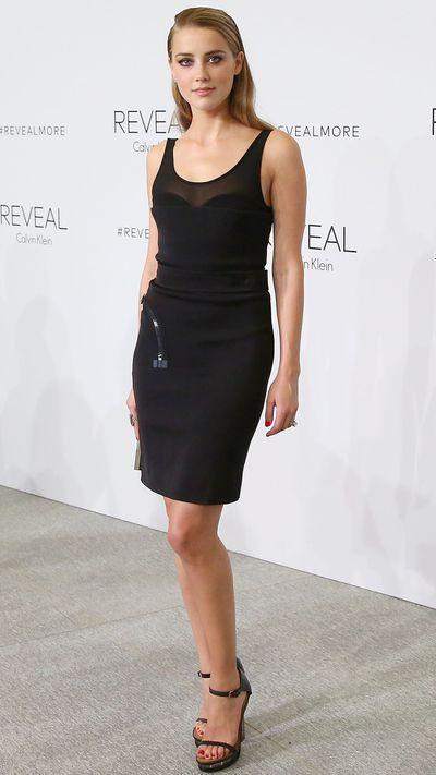 <p>Wearing Calvin Klein.</p>
