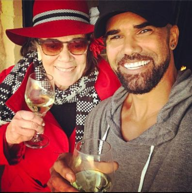 Shemar Moore, mother. Marylin Joan Wilson-Moore, selfie, Instagram