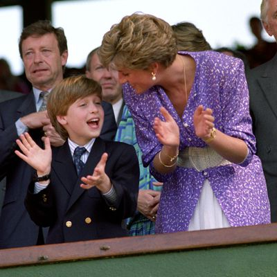 Princess Diana and Prince William, 1991