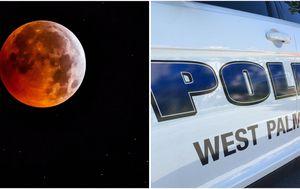 Man and woman 'run over' while watching super blood moon eclipse