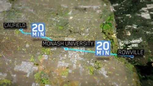 The government has committed three million dollars to the 18 kilometre network extension. (9NEWS)