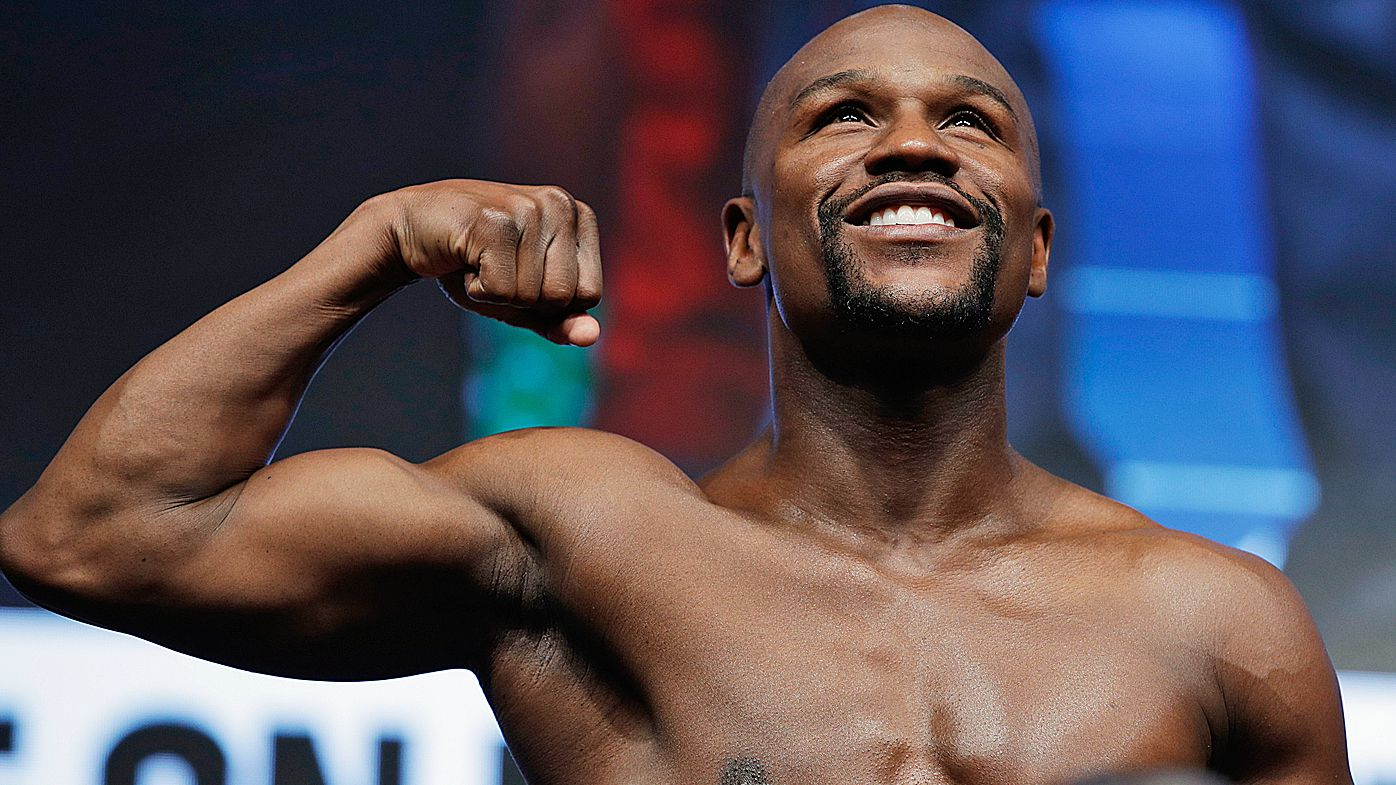 Undefeated Champion Boxer Floyd Mayweather Announces He's Retiring