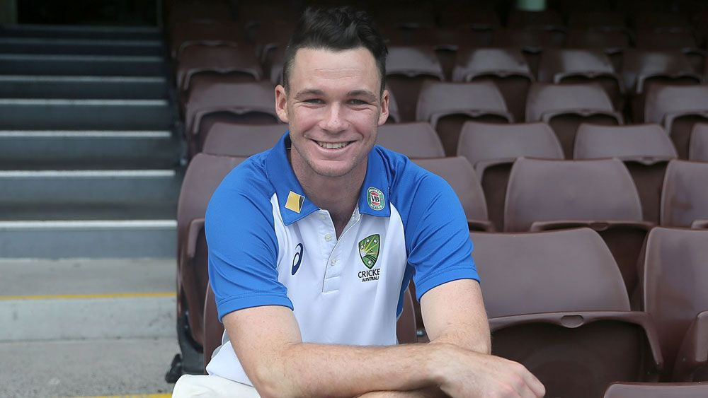 Timing right for Test rookie Handscomb