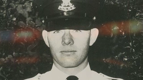 Det Sgt Horn joined the force in 1968.