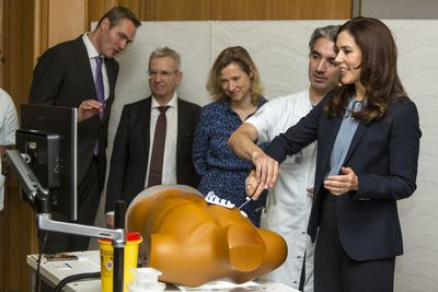 Princess Mary visits the Danish Government Hospital, November 2019