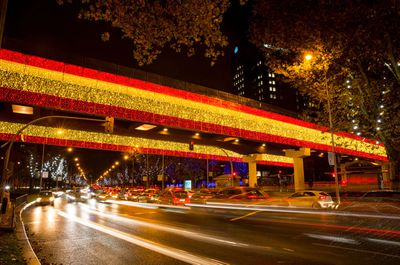 Christmas and New Year illuminations in Madrid