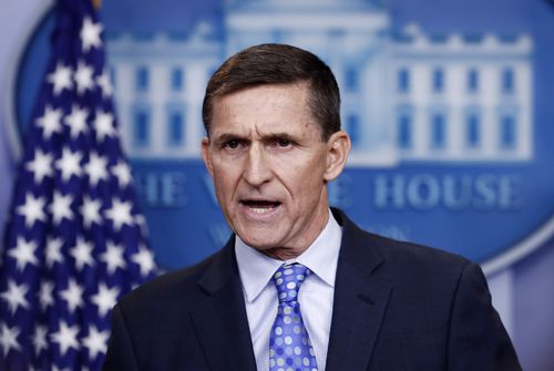 Former National Security Adviser Michael Flynn.
