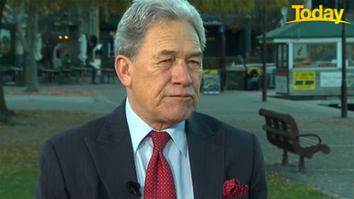 Winston Peters told Today vaccines have been arriving 'months too late'.