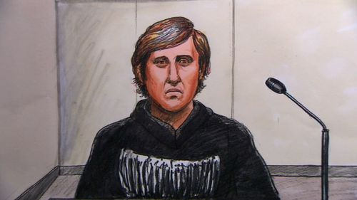 Joby Rowe in court today. Picture: 9NEWS