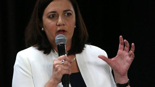 Queensland premier Anastasia Palaszczuk. (AAP)