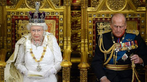 The Queen is reportedly considering abdicating at the age of 95, a report has claimed. (AAP)