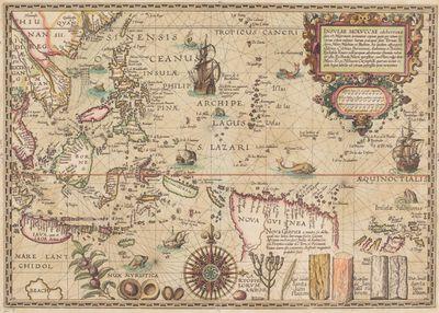 Petrus Plancius map, 1617