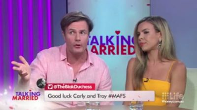 'Married At First Sight' star Troy says Carly 'popped' his 'cherry', clarifies virginity status