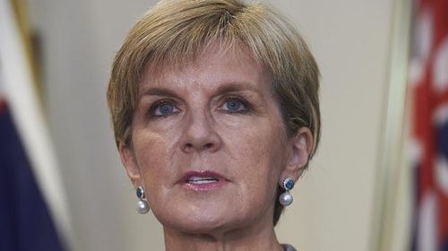 Foreign Minister Julie Bishop denied the reports earlier this week. (AAP)