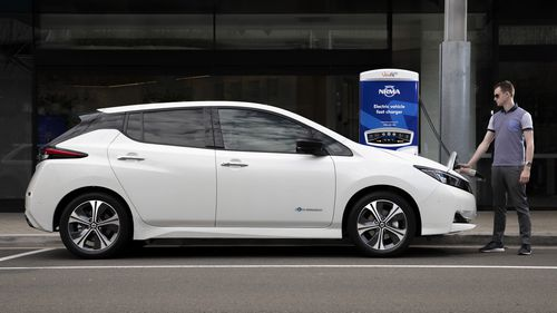 Nissan is aiming for one-third of its volume to be fully electric or hybrid-powered by 2022.