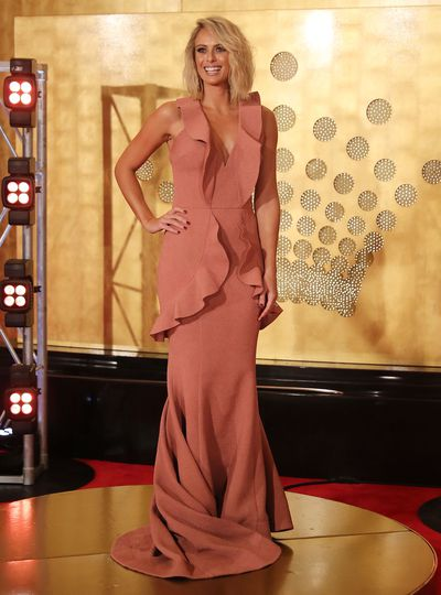 """<p>The <a href=""""https://style.nine.com.au/2018/03/05/08/25/oscars-red-carpet-2018"""" target=""""_blank"""">U.S award season</a> may be done and dusted but the biggest night in Australian TV is upon us with the 2018 <a href=""""https://style.nine.com.au/2015/05/04/11/01/why-this-years-logies-red-carpet-was-new-era-for-fashion"""" target=""""_blank"""">Logie Awards</a> taking place this weekend.</p> <p>While the event has traditionally been held in Melbourne, this year the A-listers of the small screen will swap the chilly weather for the sun of the Gold Coast.</p> <p>Does that mean plunging necklines and shorter hemlines? Who can say!</p> <p>As we gear up for a night that's just as much about the fashion as it is the accolades, let's take a look at the most talked about looks of last year's Logie Awards, starting with the Today Show'sSylvia Jeffreys in Rebecca Vallance.</p>"""