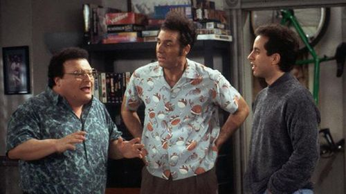 Kramer (centre) demonstrates behaviour matched with someone diagnosed with schizoid personality disorder. (Supplied)