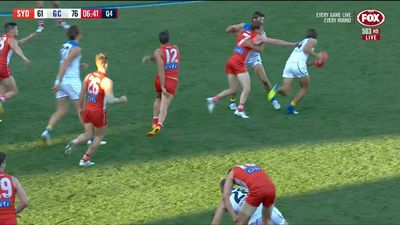 Gold Coast Suns snap 11-game losing streak in shock win over Sydney Swans