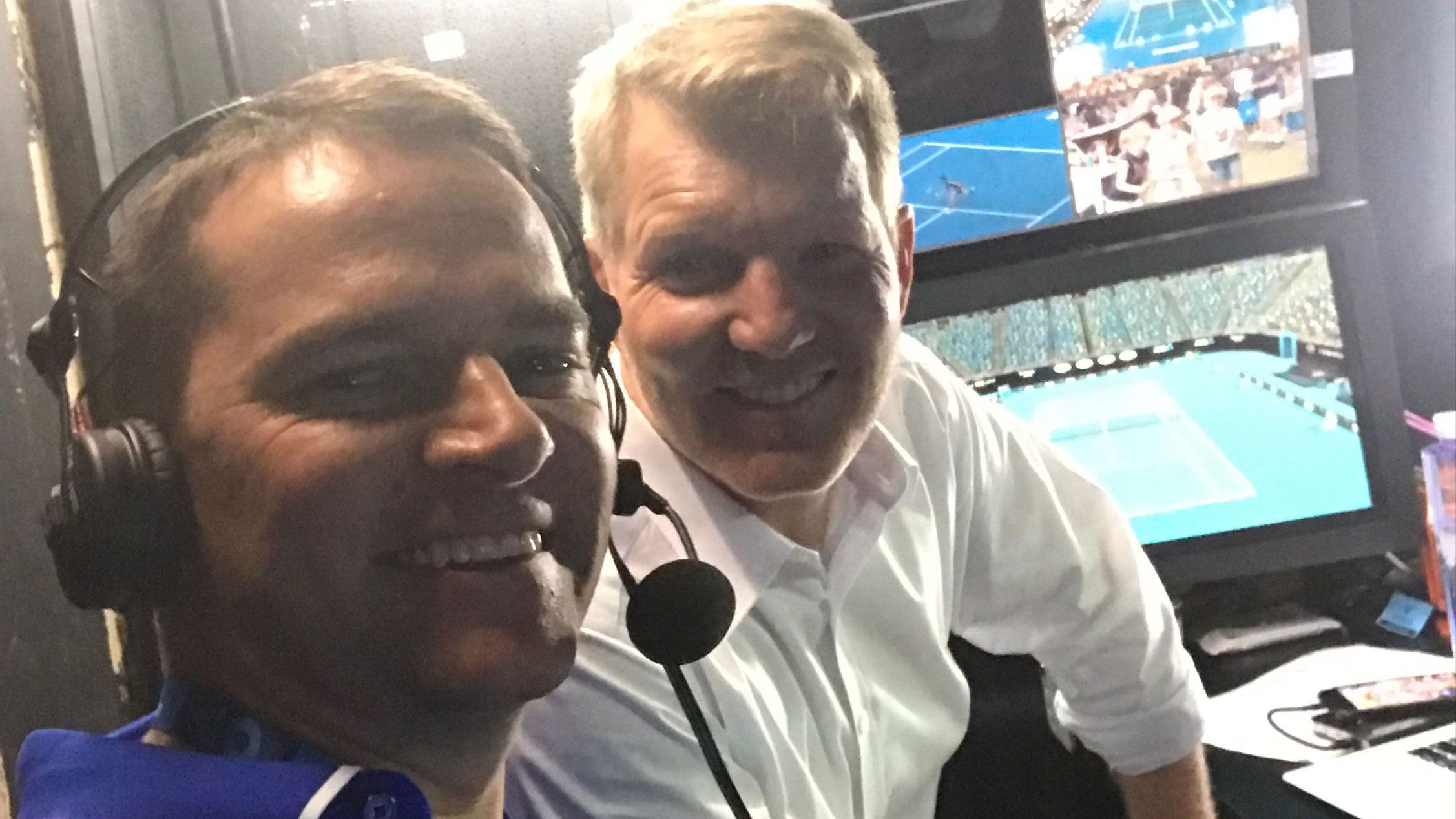 Tom Rehn reveals what it was like to commentate first ever Australian Open match