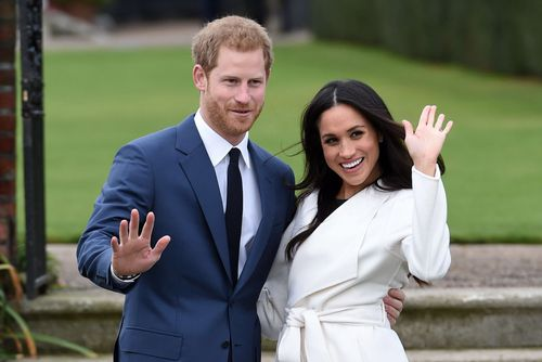 Markle only trusted a few friends from Toronto with the biggest secret on the planet. Picture: PA