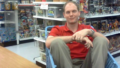 Toys R Us store manager Larry Wells.