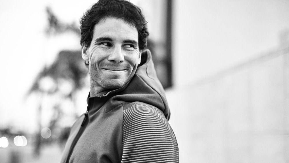 Tennis champion Rafael Nadal on his winning style