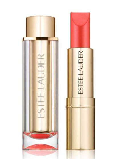 "<a href=""http://shop.davidjones.com.au/djs/en/davidjones/pure-color--love-lipstick"" target=""_blank"">Estee Lauder Pure Color Love Lipstick in Sly Wink, $36</a>"