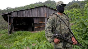 The Mexican province of Uruapan has struggled with gang violence in recent years.