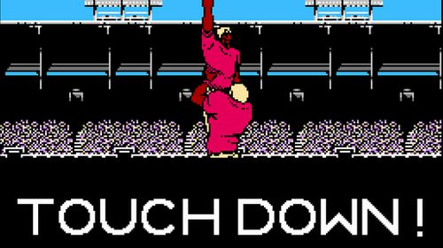 Jarryd Hayne takes to the field in retro Nintendo video game hack