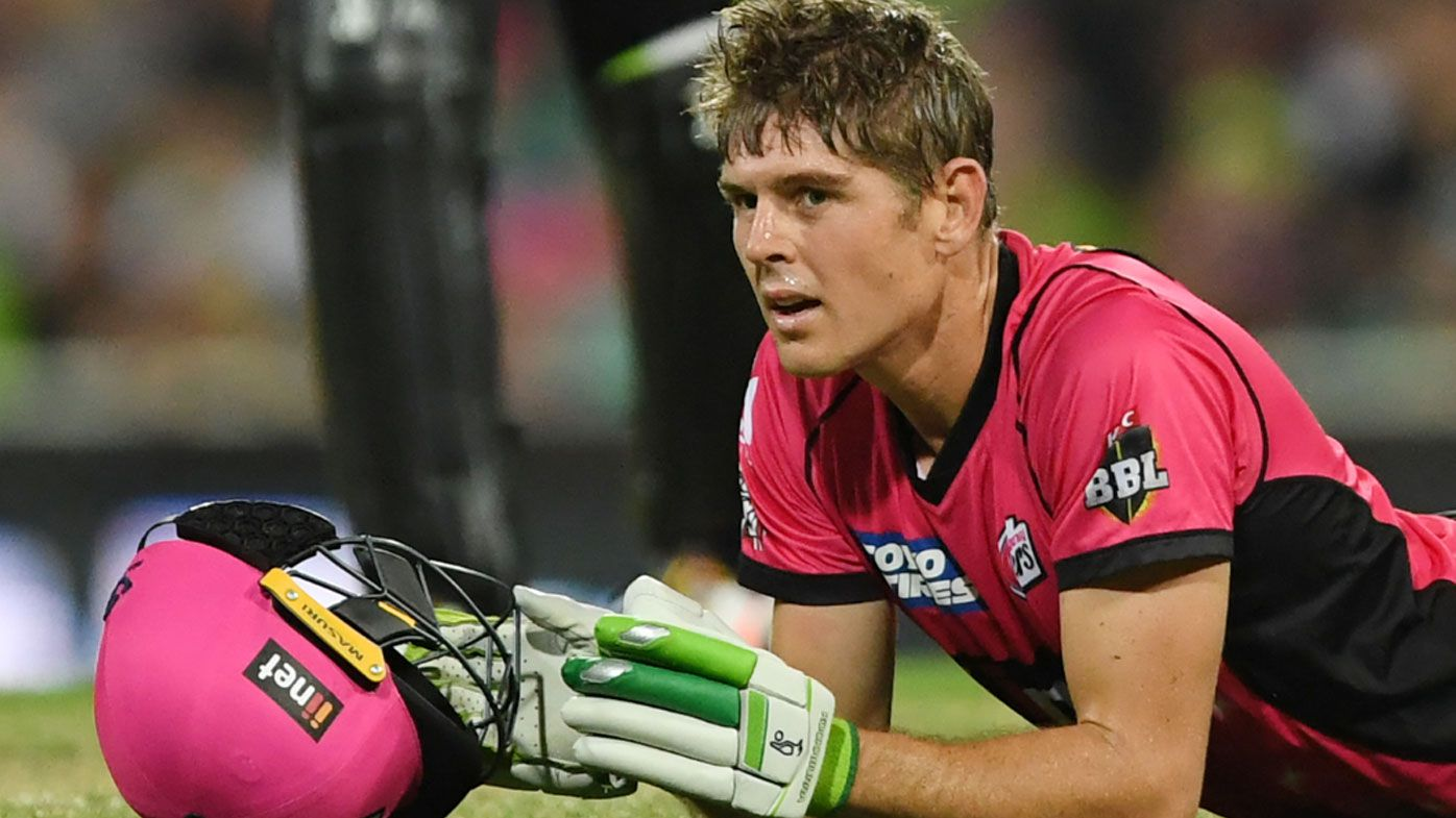 Daniel Hughes of the Sydney Sixers. (Photo: AAP).