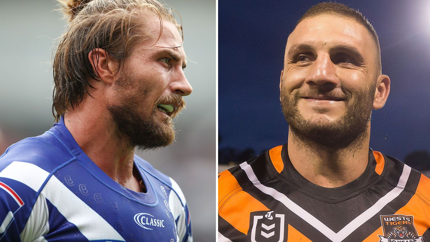 Kieran Foran and Robbie Farah